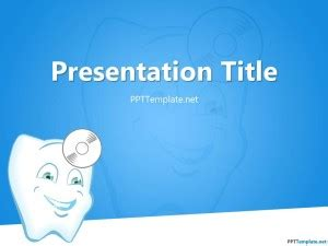 Free Dentist Ppt Template Free Animated Dental Powerpoint Templates