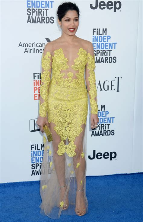 Independent Spirit Awards by Freida Pinto At 2017 Independent Spirit Awards In