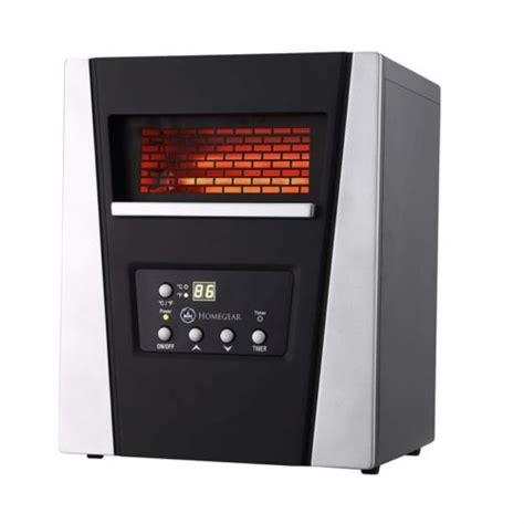 electric infrared space heaters  remote