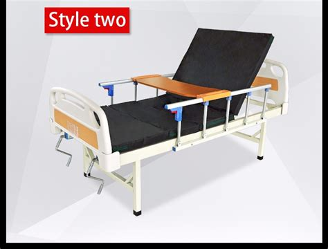 hospital recliner chair bed hospital equipment abs double manual hospital beds buy