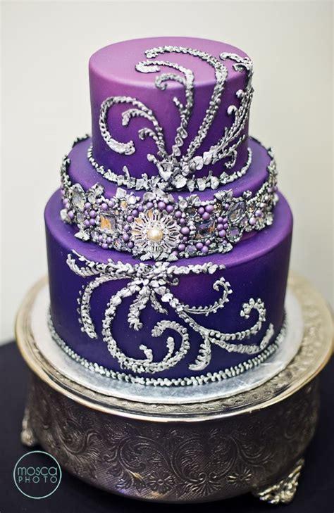 purple wedding ideas with pretty details modwedding