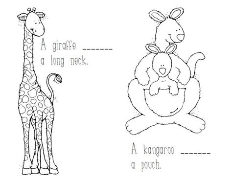 printable zoo animal worksheets free coloring pages