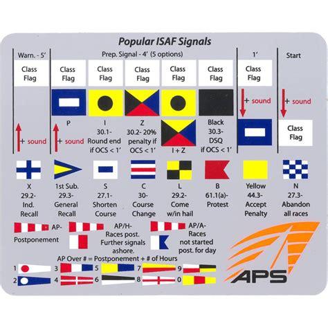 sailboat racing flags aps racing flags sticker aps