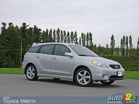 Toyota Matrix Reviews Auto123 New Cars Used Cars Auto Shows Car Reviews