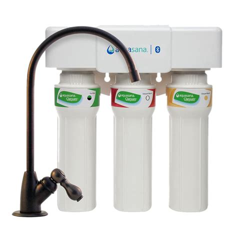 aquasana 3 stage counter aquasana 3 stage max flow counter water filtration