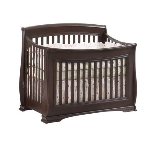 Natart Juvenile Bella Quot 5 In 1 Quot Convertible Crib In Cocoa Angeles Baby Cribs