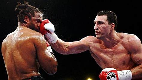 allenamento boxe a casa allenamento boxe stile vladimir klitschko