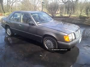 1989 Mercedes 300e 1989 Mercedes 300e 300 Series W124 Chassis