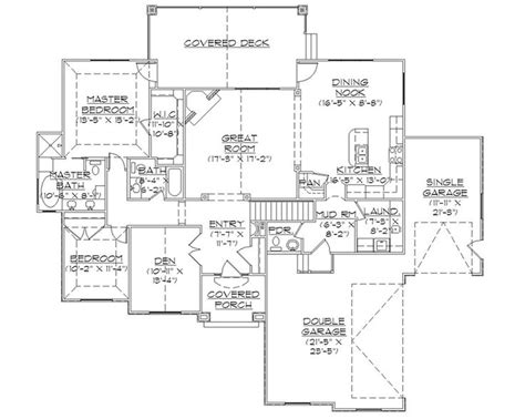rambler floor plans with basement rambler house plans with basements professional house floor plans custom design homes