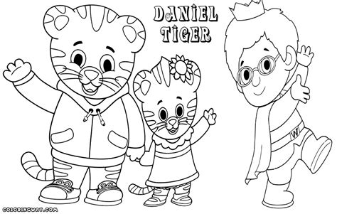 Daniel 6 Coloring Pages by Daniel Tiger Coloring Page 6 Coloring Pages For