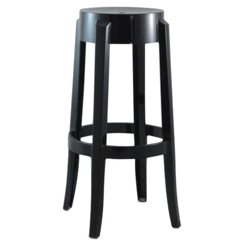ghost bar stool black chairs and seating rentals