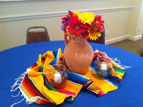 Mexican Themed Decorations the posh pixie mexican table decorations