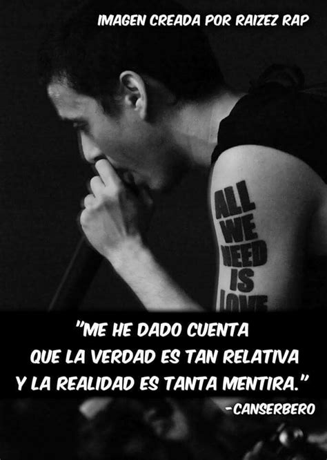 fraces de cancerbero de traicion canserbero frases rap pinterest