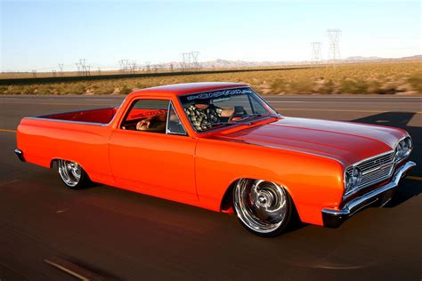 el camino orange thecustomshop 1965 chevrolet el camino specs photos