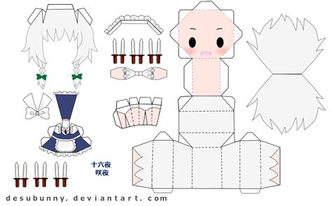 Today Papercraft by Papercraft Templates 2 526 3 Today Paper
