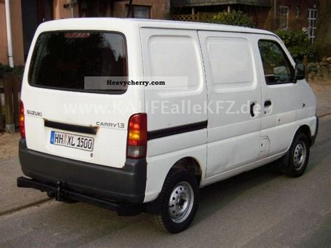 Suzuki Carry 2000 Box Type Delivery Photo And Specs