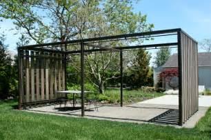 Garden structures modern landscape new york by landplans