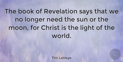 we are one the sun books tim lahaye the book of revelation says that we no longer