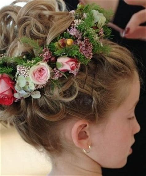 Flower Hairstyles For Toddlers by Dewi Image Wedding Flower Hairstyles