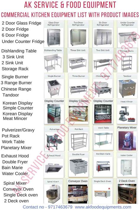 commercial kitchen equipment manufacturers in delhi india