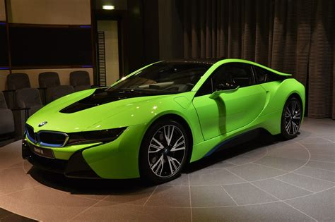 green bmw ever seen a lime green bmw i8 before carscoops com