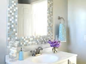 Diy Bathroom Mirror Frame Ideas by Diy Bathroom Ideas Bob Vila