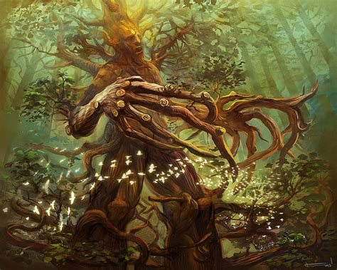 ancient treant by bocho on deviantart