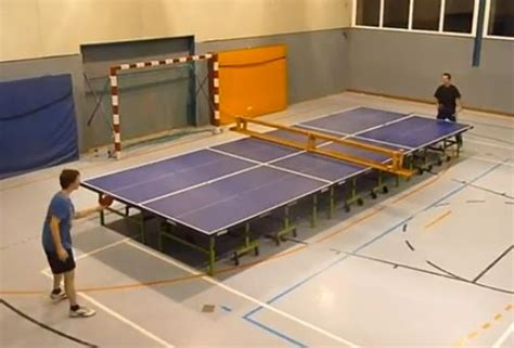 cool ping pong tables 73 best images about table tennis cool stuff on