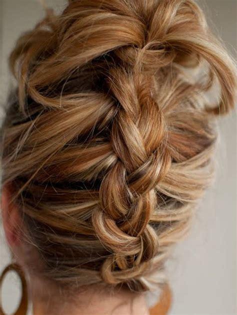 Easy Braided Hairstyles For Medium Hair by Simple Braided Hairstyles For Medium Hair Inmoob