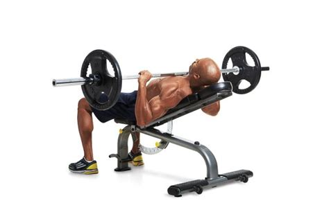 45 degree bench press incline bench press men s fitness