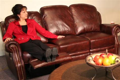 all leather reclining sofa mckinney all leather reclining sofa