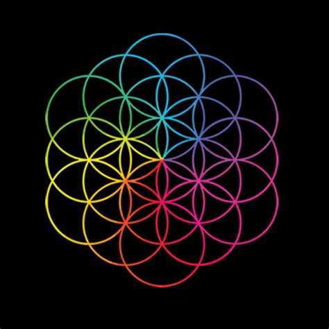 coldplay names the flower of life on coldplay s new and awesome album