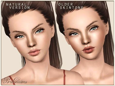 sims 3 cc skin color my sims 3 blog pure skin natural by pralinesims sims 3