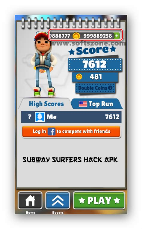 subway surfers coin hack apk subway surfers v1 49 2 hack apk unlimited coins softszone your search ends here