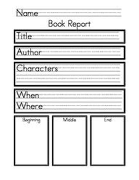 kindergarten book report forms may kindergarten on kindergarten books