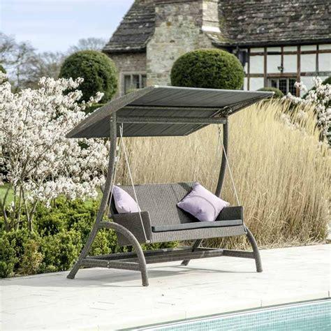 swing garden chairs uk monte carlo swing seat by alexander rose 163 1358 1