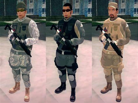 Modification De Société by Gta San Andreas Gta V Merryweather Asian Soldier