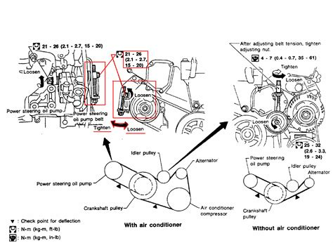 2005 Nissan Altima Belt Diagram 1999 Nissan Altima Engine Diagram Get Free Image About