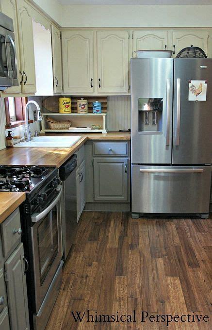 kitchen makeover chalk paint kitchen cabinets gray