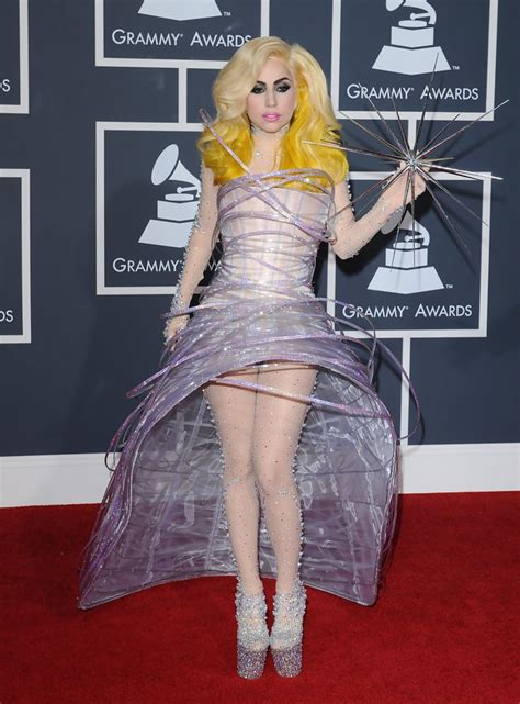 Dress Gaga gaga evening dress gaga looks stylebistro
