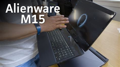 alienware m15 on new design just as powerful