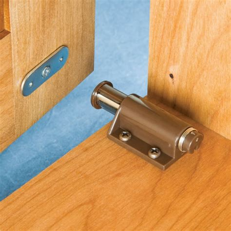 touch latches for doors single slide magnetic touch latch magnets by hsmag