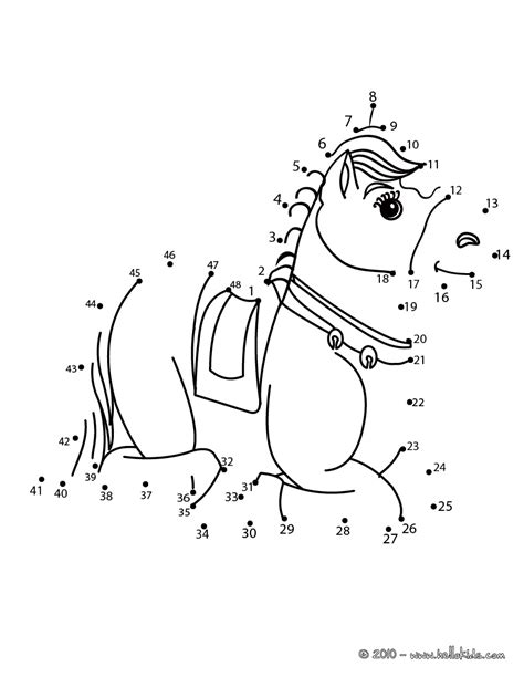 printable horse games laying horse dot to dot game printable connect the dots