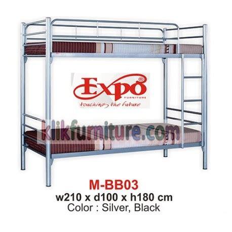 Ranjang Besi 2 Tingkat mbb 03 ranjang tingkat besi expo harga promo