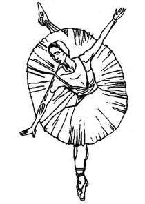 free ballerina coloring pages