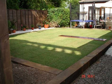 Railway Sleeper Garden Edging railway sleepers