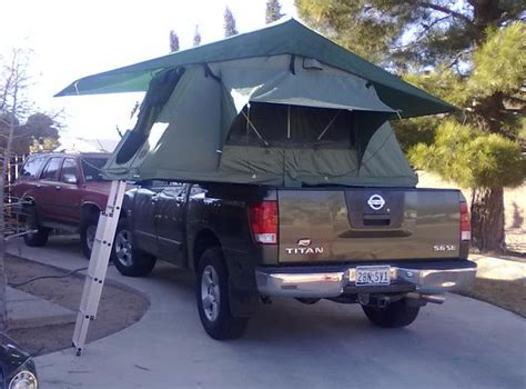 diy truck bed tent diy tent on a trailer compact cing concepts page 7