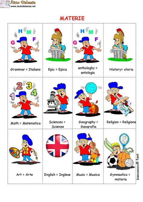scaffali in inglese vocabolario con immagini inglese aiutodislessia net