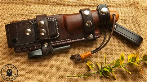 bushcraft knife sheaths miscellaneous custom leather knife sheaths