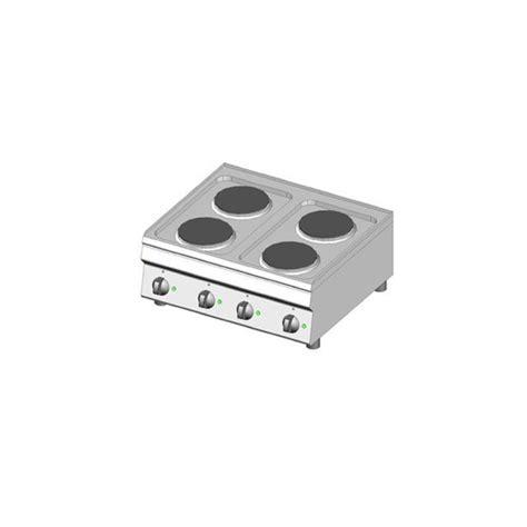 piano cottura piastre elettriche piano cottura elettrico 4 piastre dom macchine alimentari